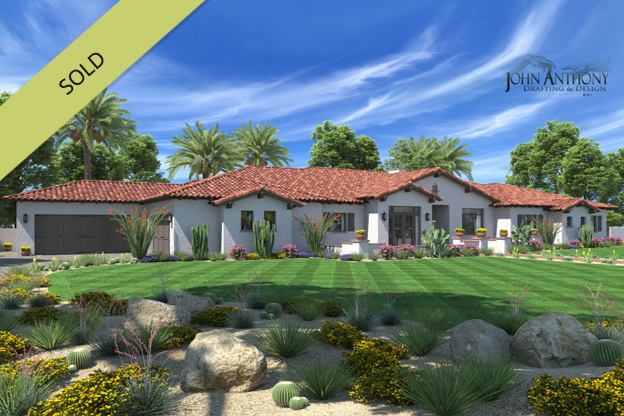 Mesa luxury custom home building