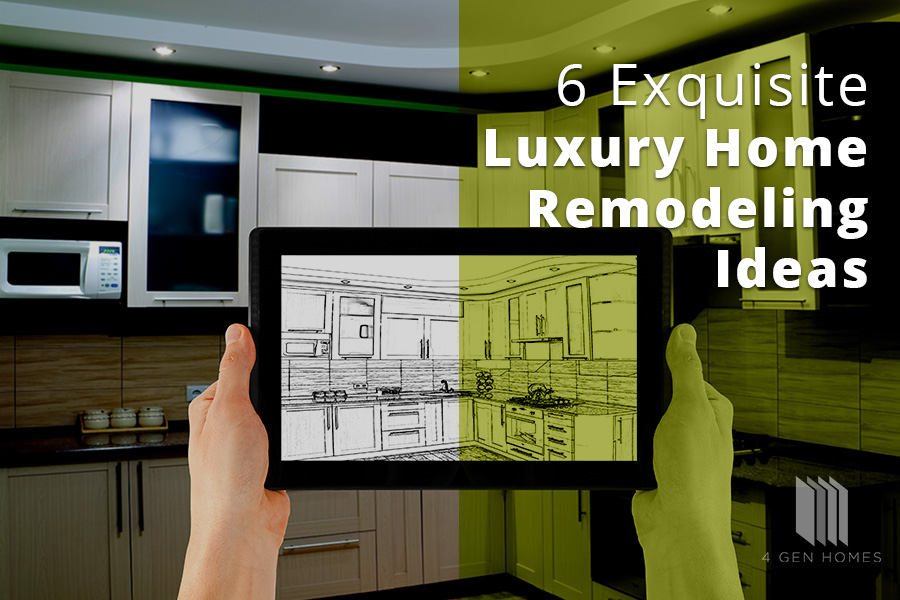 Exquisite Luxury Home Remodeling Ideas